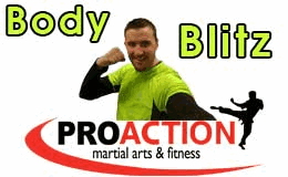Image of David Marshall Personal Trainer advertising his Body Blitz classes.